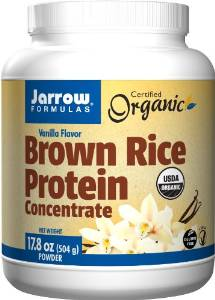 jarrow brown rice protein powder vegan