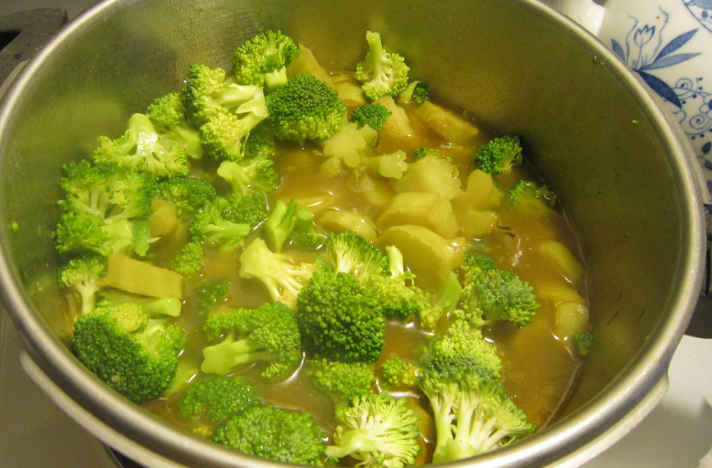 Boiled vegetables have a gross mushy texture!
