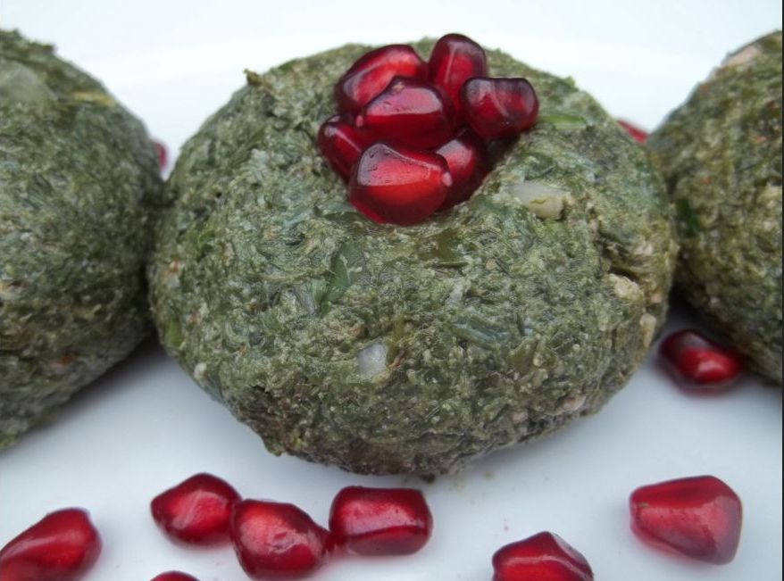 pkhali georgian spinach and walnuts