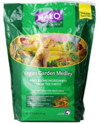 Halo vegan dog food