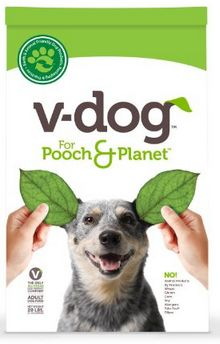 V-Dog vegan dog food