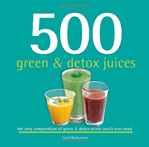500 green and detox juices book