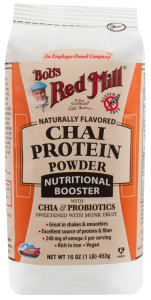 bobs red mill chai protein booster