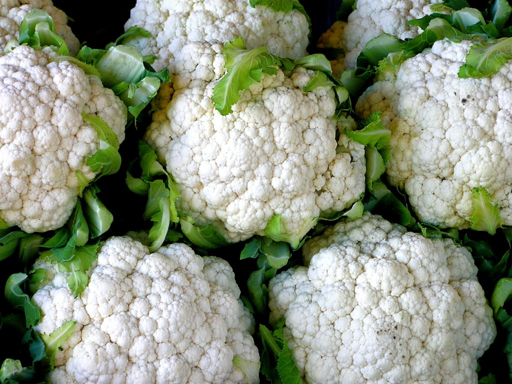Tryptophan: Cauliflower